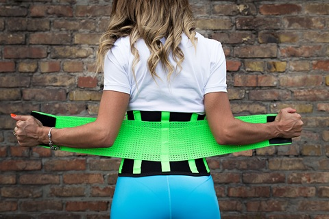 Beginners need to ease themselves into wearing waist trainers slowly!